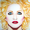 Cuadro: Madonna - Bed Time Stories / Pintor: Juan Grande